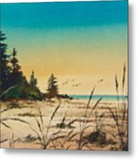Return To The Shore Metal Print