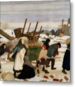Returning To The Reconquered Land Metal Print