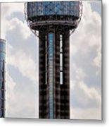 Reunion Tower - Dallas Texas Metal Print