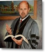 Rev. Jeff Garrison Metal Print