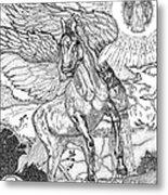 Revelation   Return Of The King Metal Print by Glenn McCarthy Art and Photography