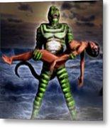Revenge Of The Creature Metal Print