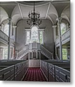 Reverence - Bennington First Church Metal Print