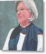 Reverend Mary Gregorius Metal Print
