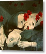 Reverie... Metal Print by Dorina  Costras