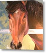 Reverie - Quarter Horse Metal Print