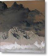 Reverse Landscape Metal Print