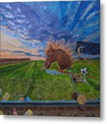 Revisiting, The Childhood Ride Metal Print