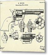 Revolving Fire Arm-1875 Metal Print