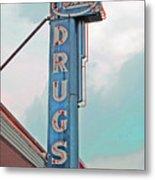 Rexall Drugs Metal Print