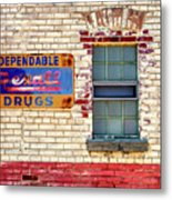 Rexall Drugs Sign Hermann Mo_dsc3130_16 Metal Print