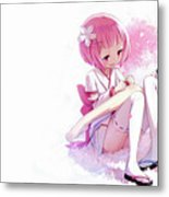 Rezero -starting Life In Another World- Metal Print