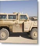 Rg-31 Nyala Armored Vehicle Metal Print