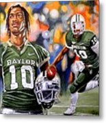 RG3 Metal Print by Al  Molina