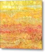 Rhapsody Of Colors 30 Metal Print by Elisabeth Witte - Printscapes