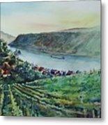 Rhine Valley Metal Print