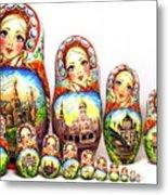 Rhinestones Of Moscow Metal Print