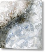 Rhymes And Blessings Abstract Painting Metal Print