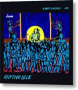 Rhythm Blue Metal Print
