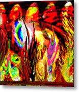 Rhythm Of The Dancing Fires Metal Print