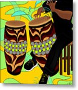 Rhythm Of The Drums Metal Print
