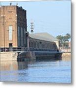 Ria Power Plant Metal Print