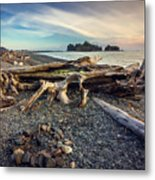 Rialto Beach Washington Metal Print
