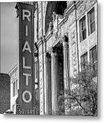 Rialto Square Theater Metal Print