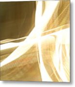 Ribbon Streaks Metal Print