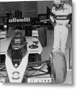 Riccardo Patrese. 1986 Spanish Grand Prix Metal Print
