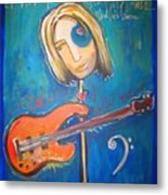 Rich Ross And His Bass Metal Print