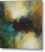 Rich Tones Abstract Painting Metal Print