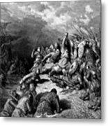Richard I The Lionheart Delivering Jaffa 1877 Metal Print