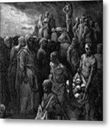 Richard I The Lionheart Massacres Captives In Reprisal 1877 Metal Print