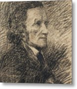 Richard Wagner  Metal Print