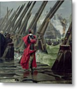 Richelieu Metal Print by Henri-Paul Motte