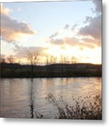 Richford Sunset  Metal Print