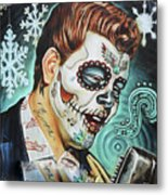 Richie Valens Day Of The Dead Metal Print