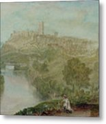 Richmond In Yorkshire Metal Print by Joseph Mallord William Turner
