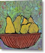 Richmond Pears Metal Print