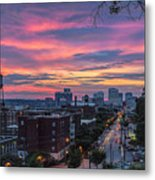 Richmond Sunset Libby Hill Metal Print