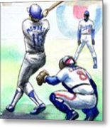 Rick Monday Metal Print