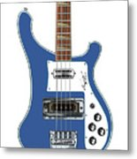 Rickenbacker Bass 4001 Body  Metal Print