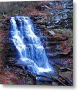 Ricketts Glen Waterfall 3941  Metal Print