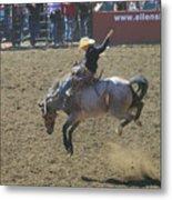 Ride Em Cowboy Metal Print