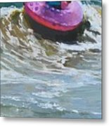 Ride The Wave Metal Print