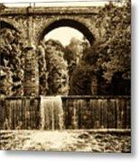 Ridge Avenue Falls Along The Wissahickon Creek Metal Print