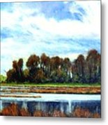 Ridgefield Refuge Early Fall Metal Print