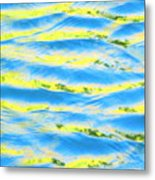Riding A Wave Metal Print