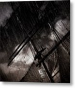 Riding The Storm Metal Print